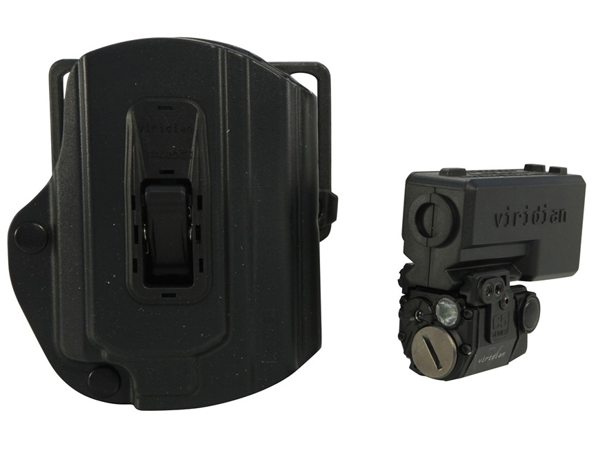 Viridian C5L Laser Sight 100 Lumen Tactical Flashlight with TacLoc ECR Holster for S&W M&P Black