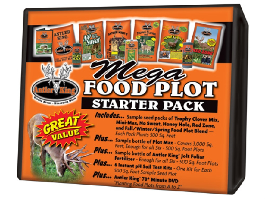 Antler King Mega Food Plot Seed Starter Kit 3 lb