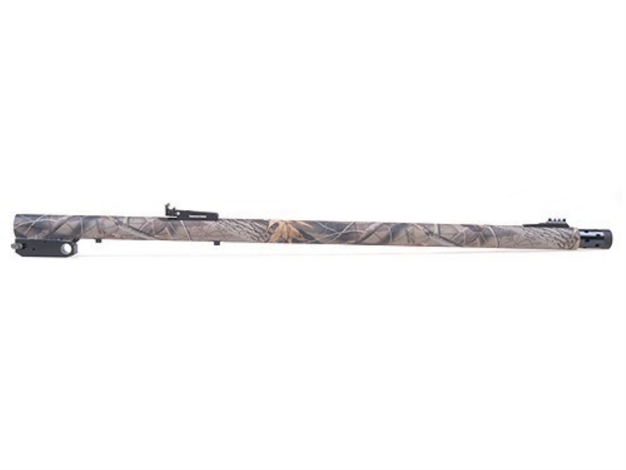 "Thompson Center Barrel Thompson Center Encore 12 Gauge 3"" Chamber 24"" with Turkey Choke Realtree Hardwoods Camo Fiber Optic Sights"