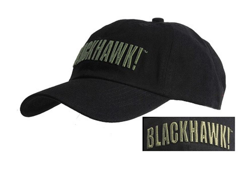 BLACKHAWK! Cap Cotton Black