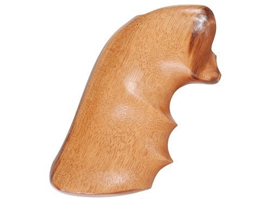 Hogue Fancy Hardwood Grips with Finger Grooves Ruger New Blackhawk, Single Six, Vaquero
