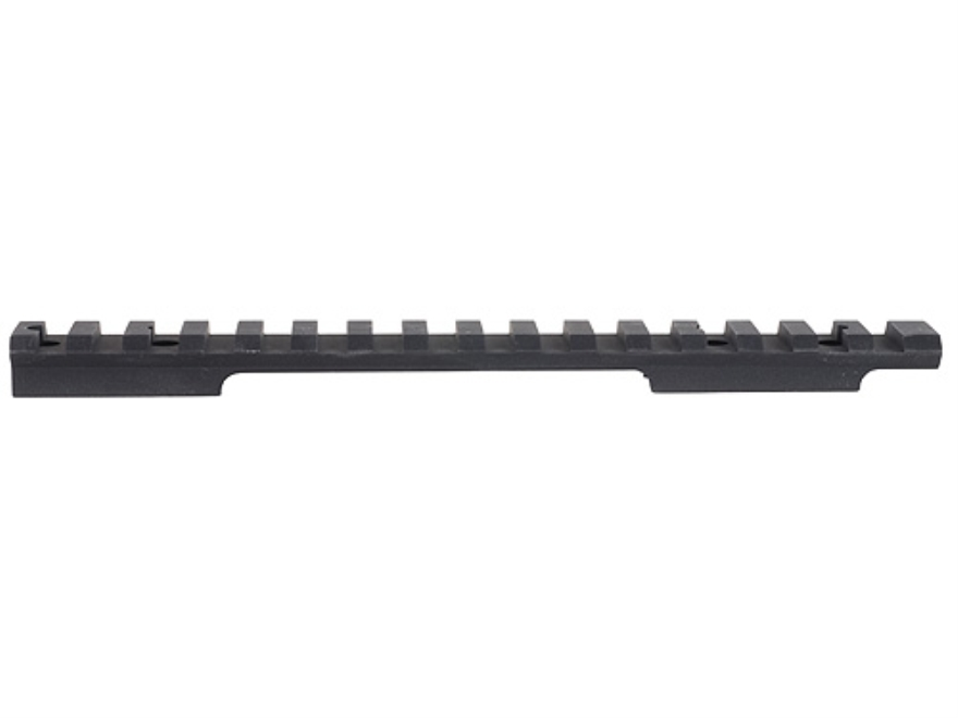 EGW 1-Piece Heavy Duty Picatinny-Style 20 MOA Elevated Base Savage 10 Through 16 Round Rear Short Action Matte