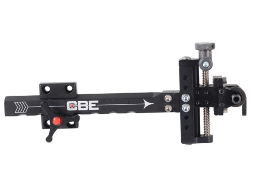 Custom Bow Equipment Quad Lite 3D Adjustable Bow Sight Aluminum Black