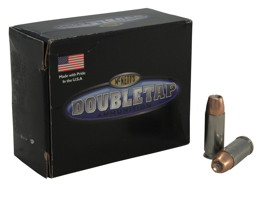 Doubletap Ammunition 38 Super +P 125 Grain  Jacketed Hollow Point  Box of 20
