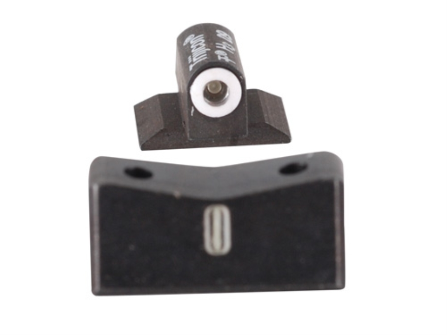 "XS 24/7 Express Night Sight Set Beretta 92, 96 with 1/4"" x 60-Degree Dovetail Steel Matte Tritium"