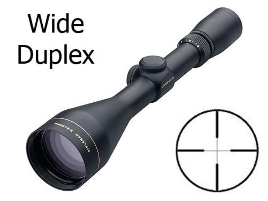 Leupold Rifleman Rifle Scope 3-9x 50mm Wide Duplex Reticle Matte Factory Second