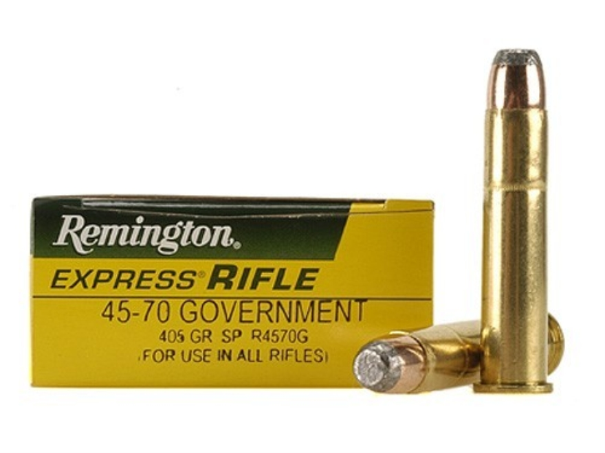 Remington express ammo 45 70 government 405 grain jacketed soft point