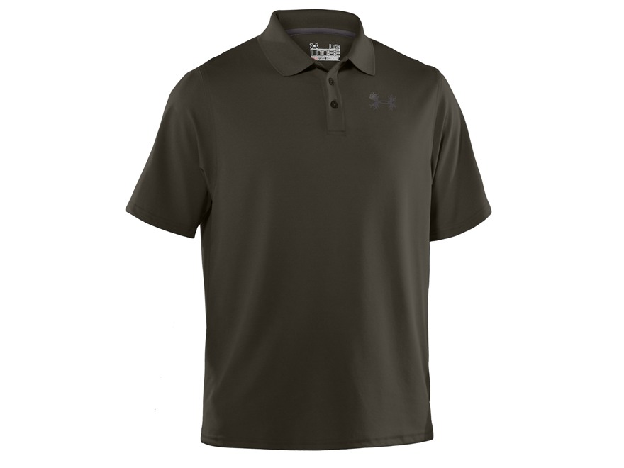 Under Armour Men's UA Antler Performance Polo Shirt Short Sleeve