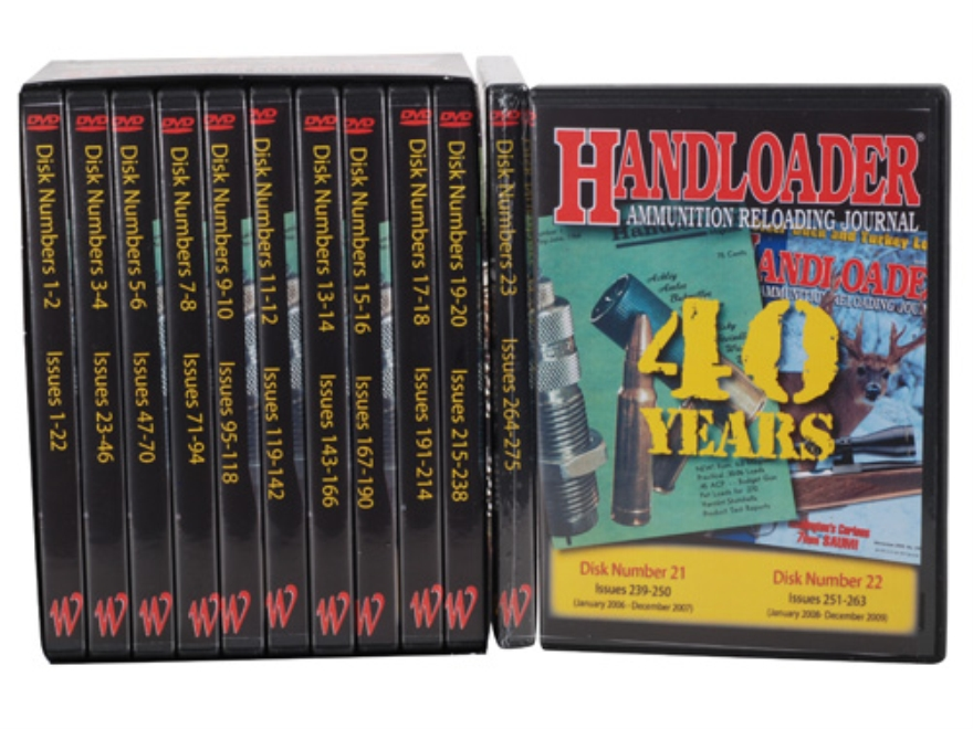 "Handloader Magazine Video ""40 Years of Handloader Magazine"" 23 DVD-ROM Set"