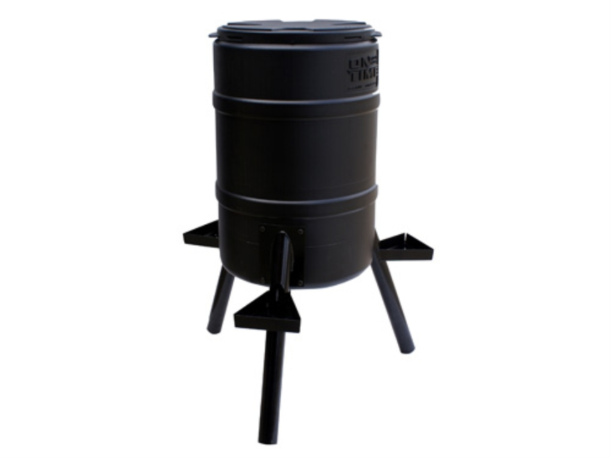 On Time Buckeye 55 Gallon Gravity Game Feeder Combo
