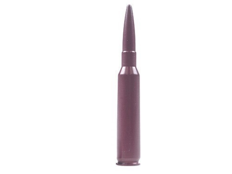 A-ZOOM Action Proving Dummy Round, Snap Cap 6.5x55mm Swedish Mauser Aluminum Package of 2