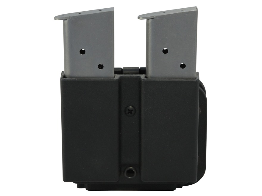 Blade-Tech Revolution Double Pistol & Rifle Magazine Pouch Glock 9mm, 40 S&W and AR-15 Tek-Lok Polymer Black