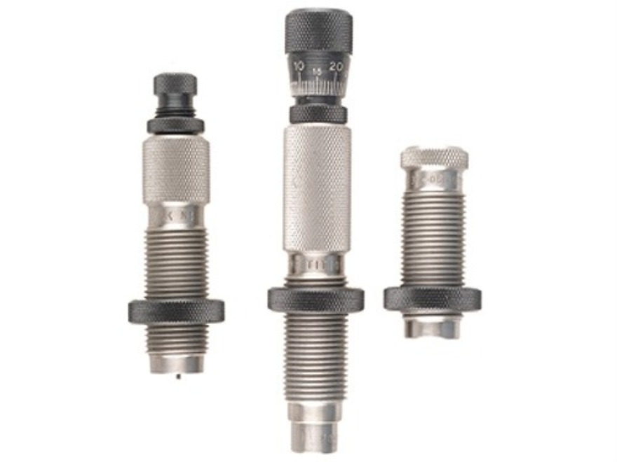 Redding Type S Match Bushing 3-Die Neck Sizer Set 25-06 Remington Ackley Improved 40-Degree Shoulder