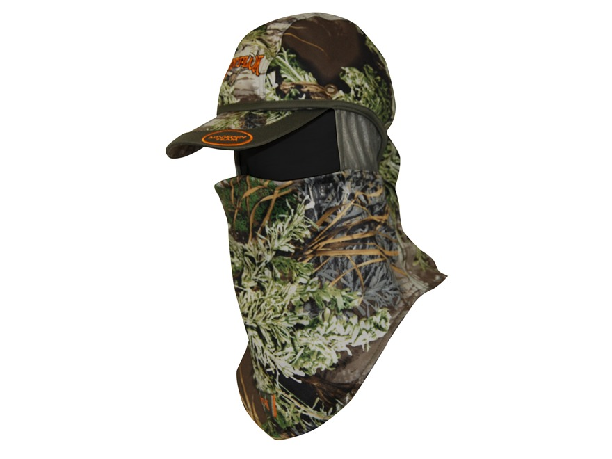 Scent-Lok Lightweight Convertible Head Cover Polyester Realtree Max-1 Camo