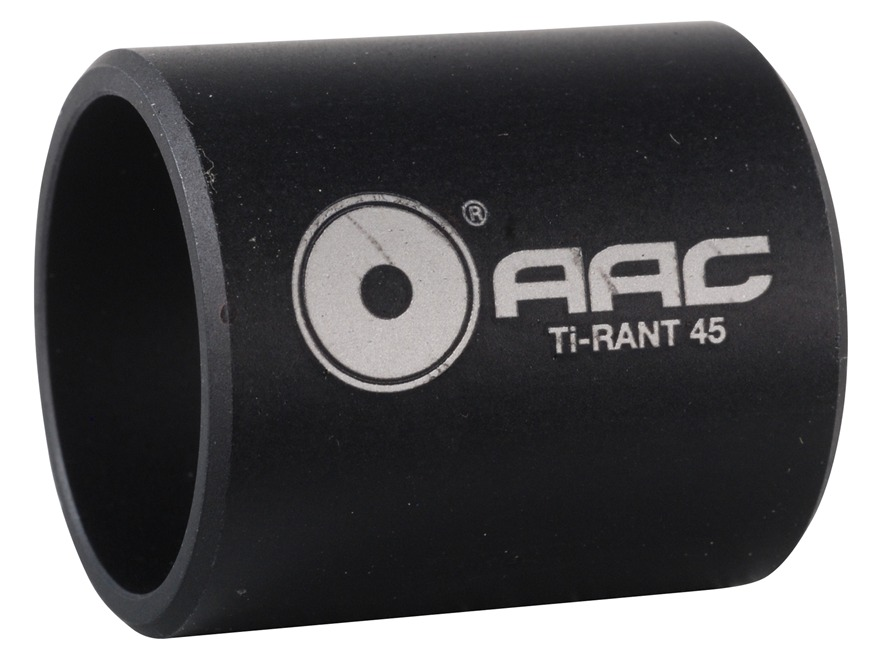 Advanced Armament Co (AAC) Fixed Barrel Spacer Ti-RANT 45 Supressor Aluminum Black