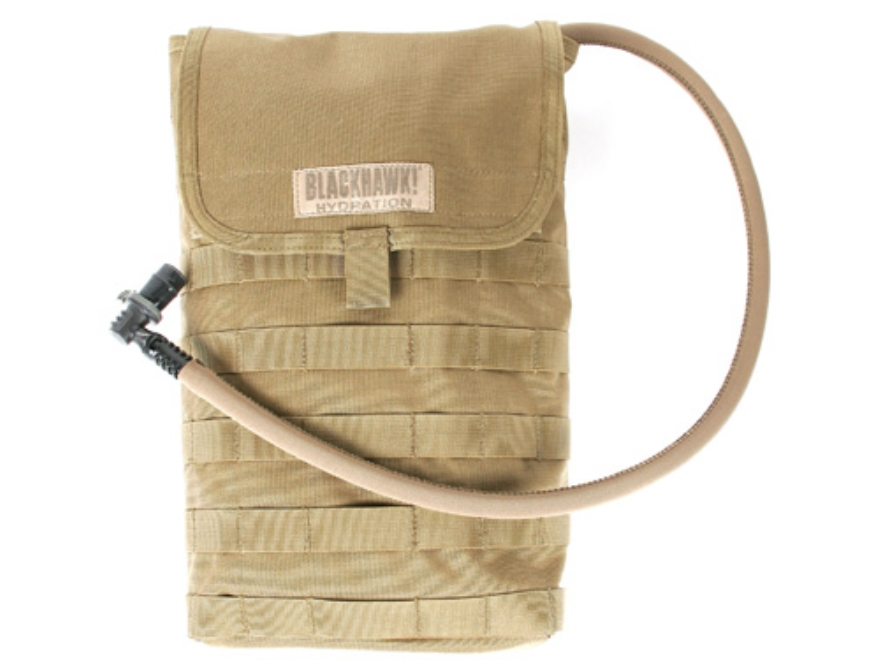 BLACKHAWK! S.T.R.I.K.E. Speed Clip Short/Wide Hydration System Carrier Nylon Coyote Tan