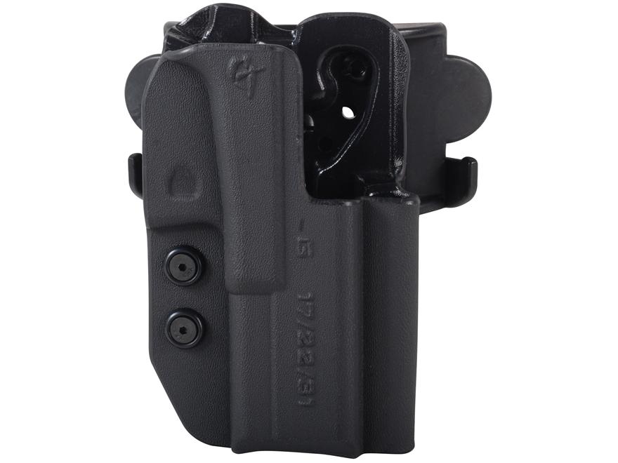 Comp-Tac International Belt Holster Right Hand Glock 17, 22, 31 Kydex Black