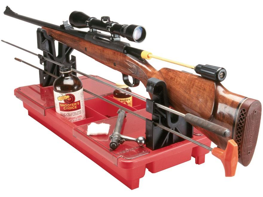 MTM Portable Rifle-Shotgun Gun Maintenance Center Plastic Red