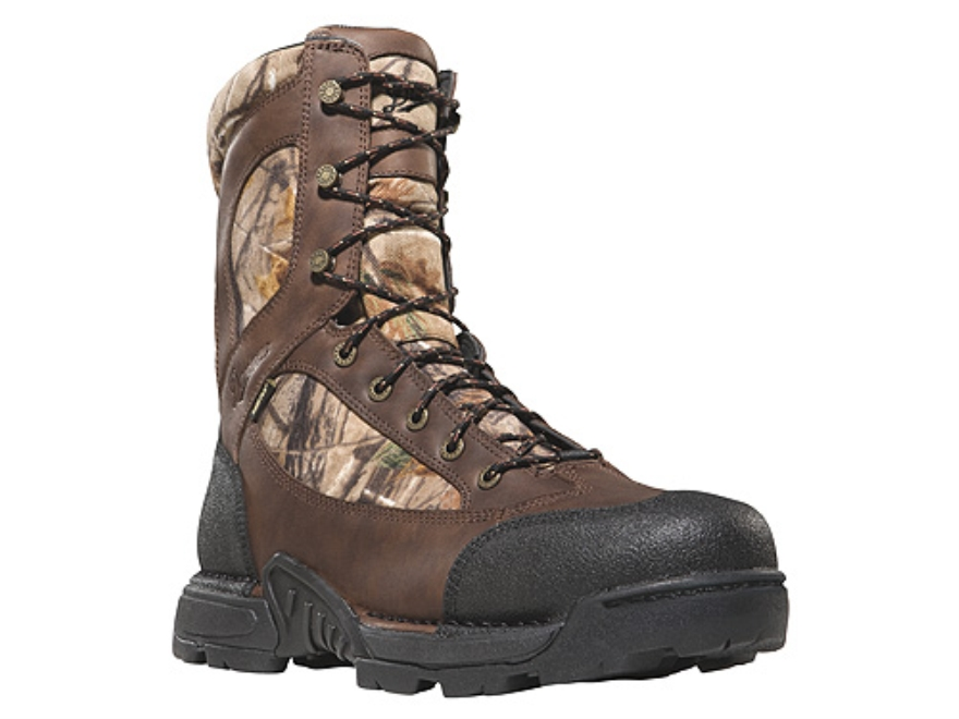 "Danner Pronghorn GTX 8"" Waterproof 1000 Gram Insulated Hunting Boots Leather and Nylon Realtree AP Camo Women's 7-1/2 M"