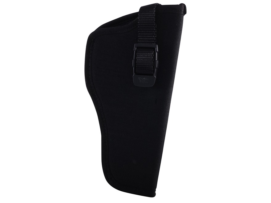 "GrovTec GT Belt Holster Right Hand with Thumb Break Size 5 for 4.5-5"" Barrel Large Frame Semi-Automatics Nylon Black"