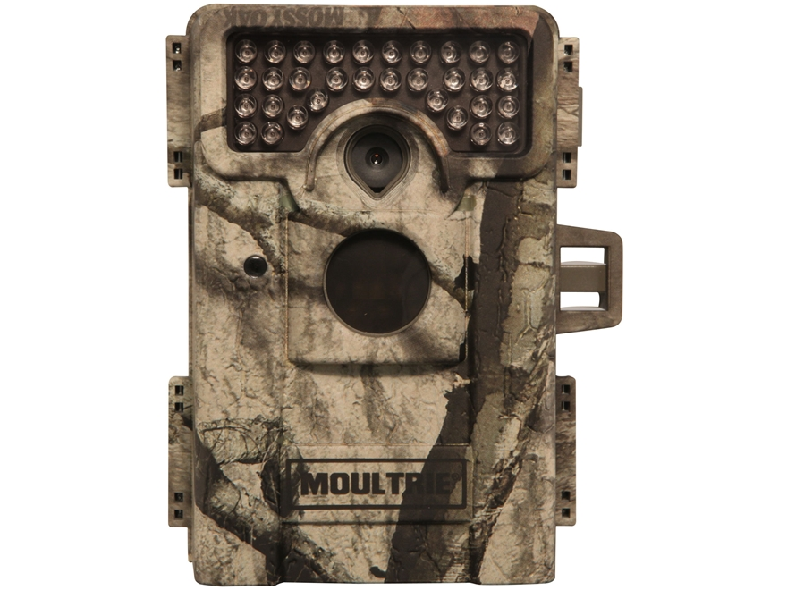 Moultrie M-990i Black Flash Infrared Game Camera 10 MP with Viewing Screen Mossy Oak Treestand Camo