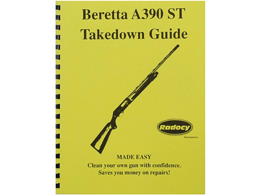 "Radocy Takedown Guide ""Beretta A390"""