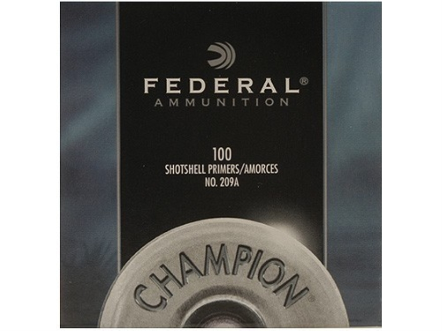 Federal Primers #209A Shotshell