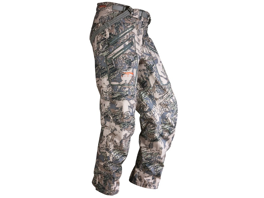 Sitka Gear Men's Coldfront Rain Tall Pants Polyester Gore Optifade Open Country Camo Large 34-37