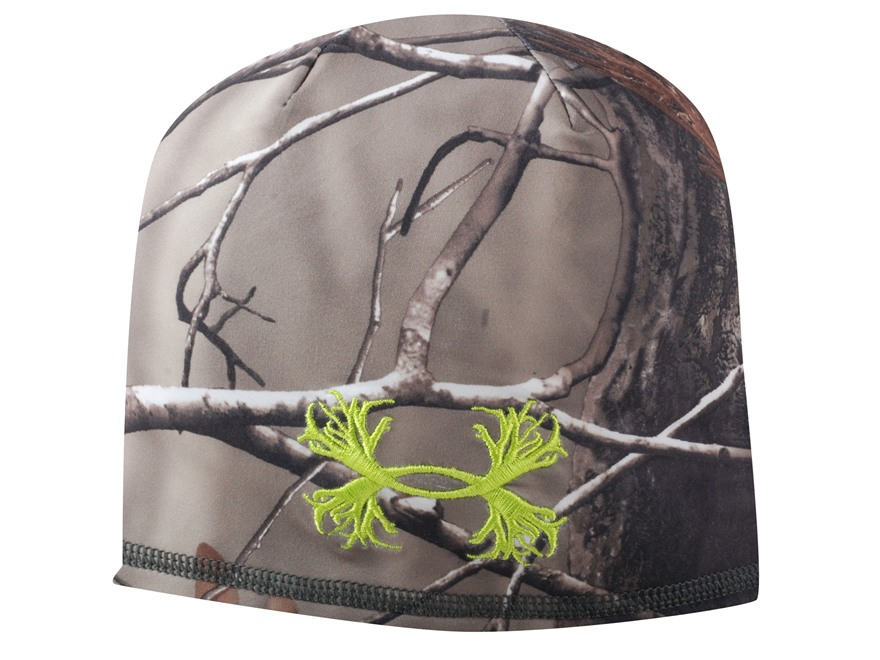 Under Armour Scent Control Beanie Polyester Realtree AP Camo L/XL