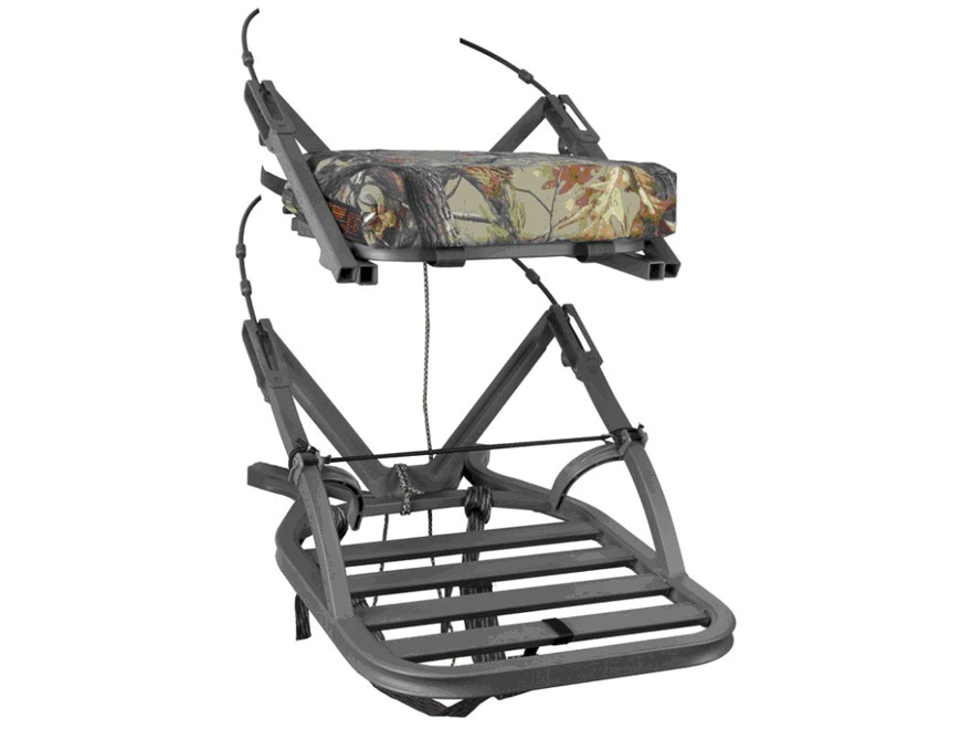 Summit Open Shot SD Climbing Treestand Aluminum Realtree AP Camo