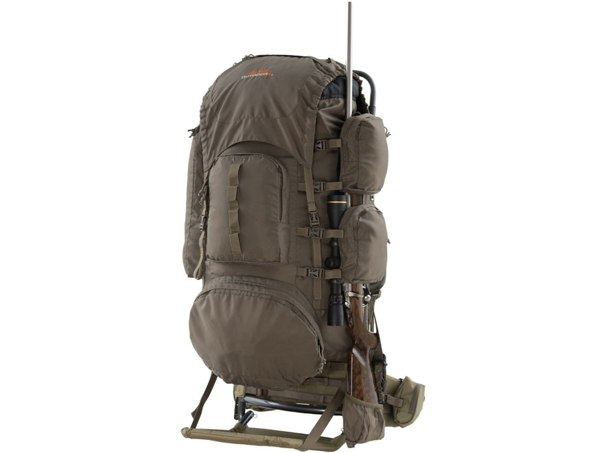 ALPS Outdoorz Commander Frame Backpack Nylon Tan