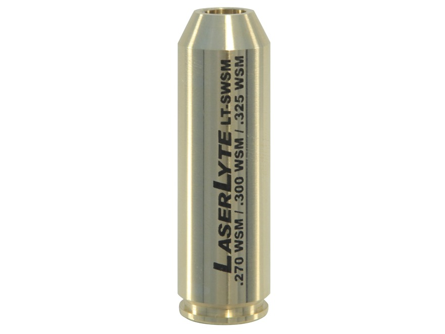 LaserLyte Laser Trainer .270, .300, .325 WSM  Sleeve For .223 Trainer Cartridge