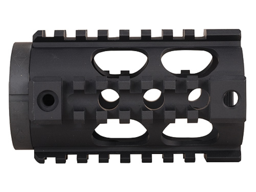 Yankee Hill Machine Free Float Tube Handguard Lightweight Quad Rail AR-15 Pistol Length...