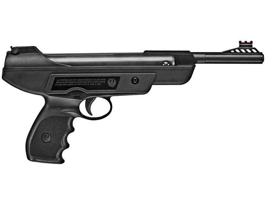 Ruger Mark I Air Pistol 177 Caliber BB Pellet Black