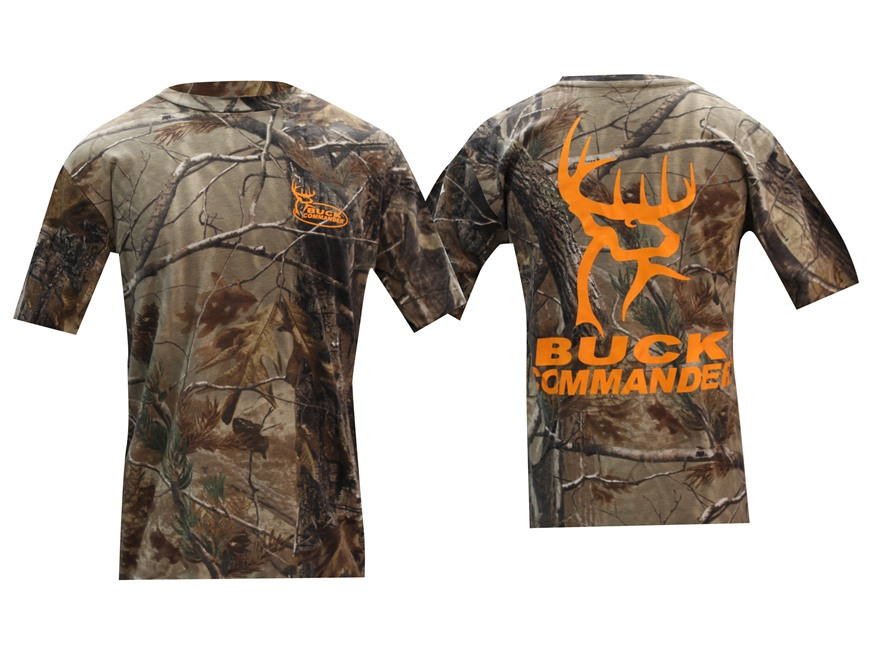 Buck Commander Men's Short Sleeve Logo T-Shirt