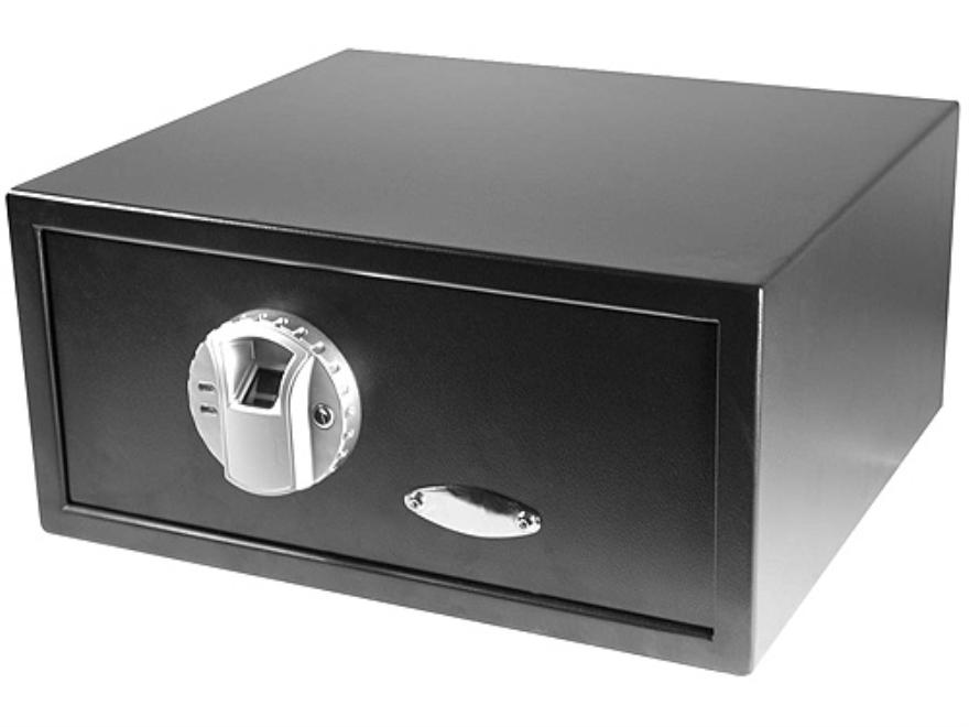 "Barska Biometric Personal Electronic Gun Safe 16-1/4"" x 14-1/4"" x 7"" Black"