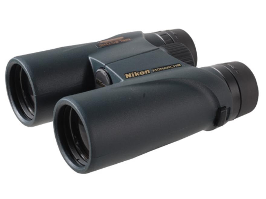 Nikon Monarch 5 ATB Binocular 12x 42mm Roof Prism Armored Black