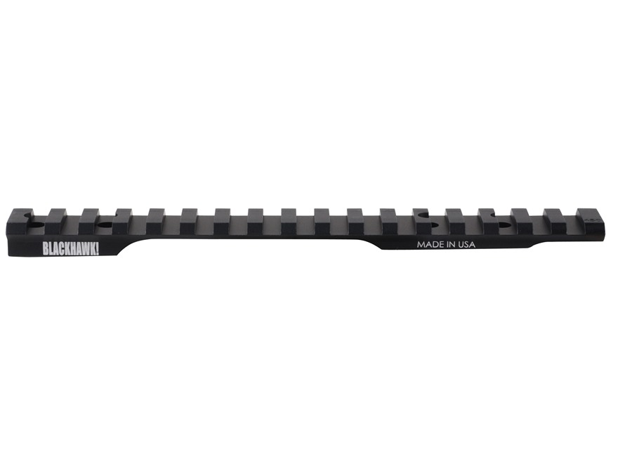 BLACKHAWK! 1-Piece Extended Multi Slot Picatinny-Style 20 MOA Base Winchester 70 Long Action Matte