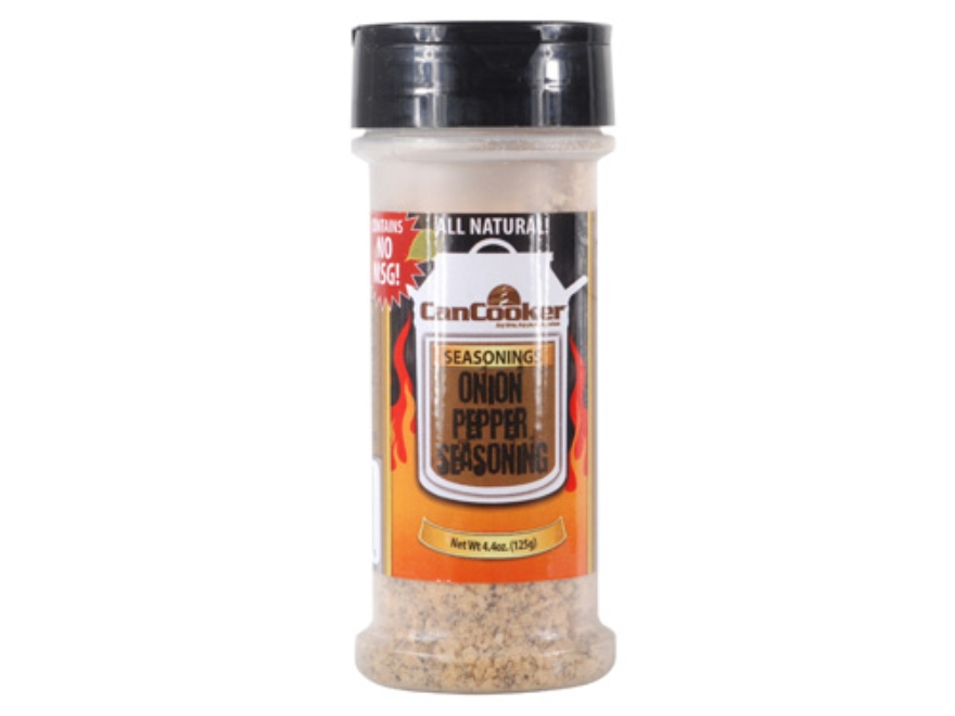 CanCooker Onion Pepper Cooking Seasoning 4.4 oz