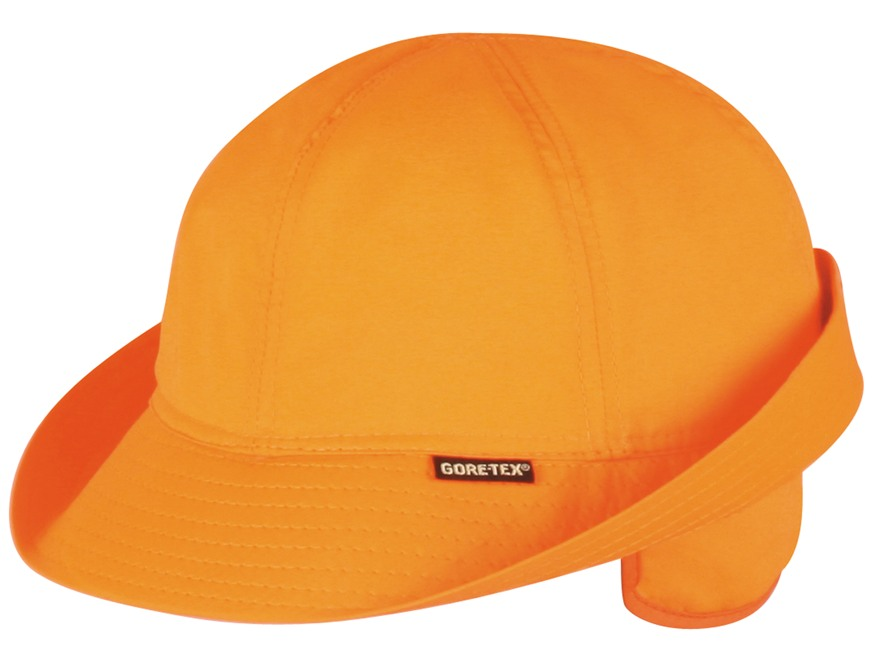 Outdoor Cap Gore-Tex Waterproof Insulated Jones Hat Nylon Blaze Orange