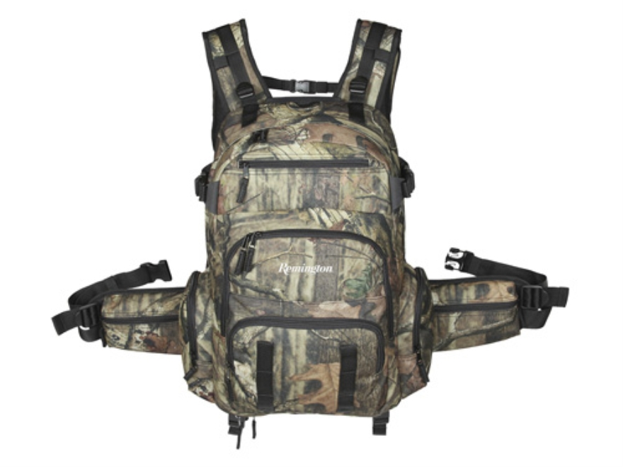 Remington Buck Ridge Hydration Ready Day Pack Backpack Nylon Mossy Oak Break-Up Infinit...