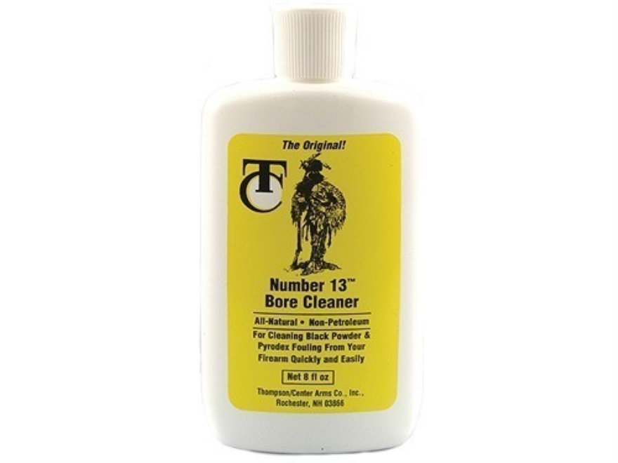 Thompson Center The Original #13 Black Powder Bore Cleaning Solvent 8 oz Liquid