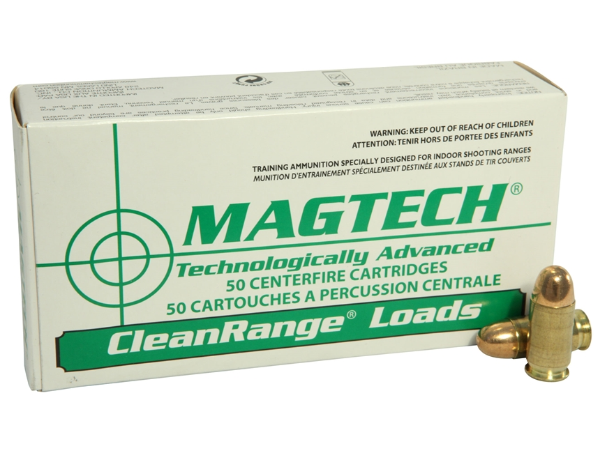 Magtech Clean Range Ammunition 45 ACP 230 Grain Encapsulated Round Nose