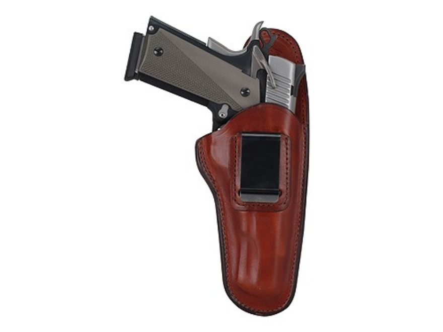 Bianchi 100 Professional Inside the Waistband Holster  Beretta 84, 84F, 85, 85F Cheetah, 85 Puma, Bersa Thunder 380, Sig Sauer P230, P232 Leather Tan