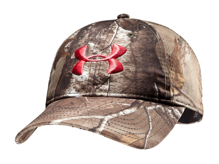 Under Armour Women's Camo Cap Polyester Realtree Xtra Camo