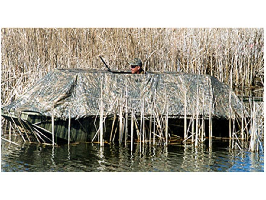 Beavertail 1600 Boat Blind Nylon Realtree Max-4 Camo