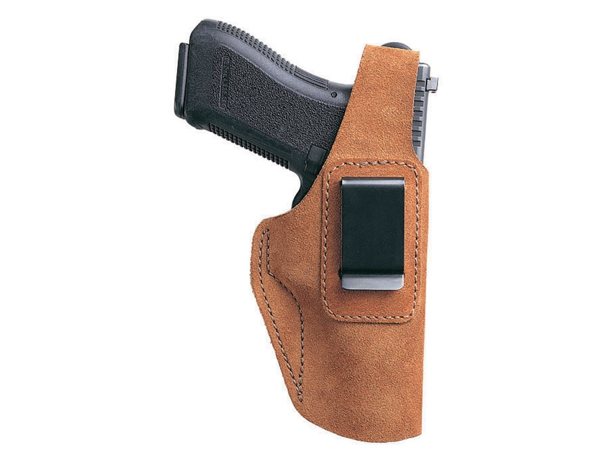 Bianchi 6D ATB Inside the Waistband Holster Glock 26, 27, Sig Sauer P239 Suede Tan
