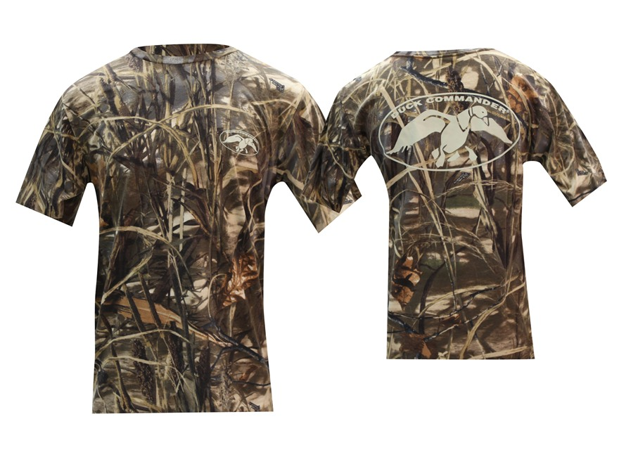 Duck Commander Men's Short Sleeve Logo T-Shirt