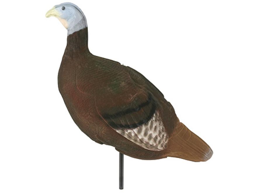 Feather Flex Flocked Three Position Hen Turkey Decoy