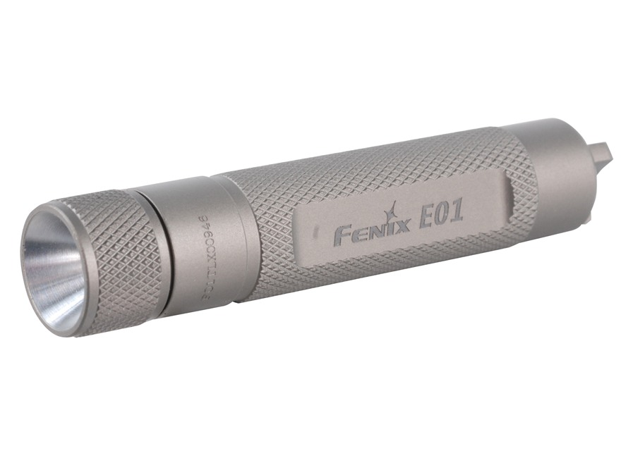 Fenix E01 Flashlight White LED Aluminum Olive Drab